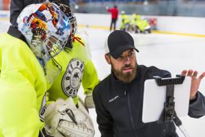 Dušan Strharský goalie coach