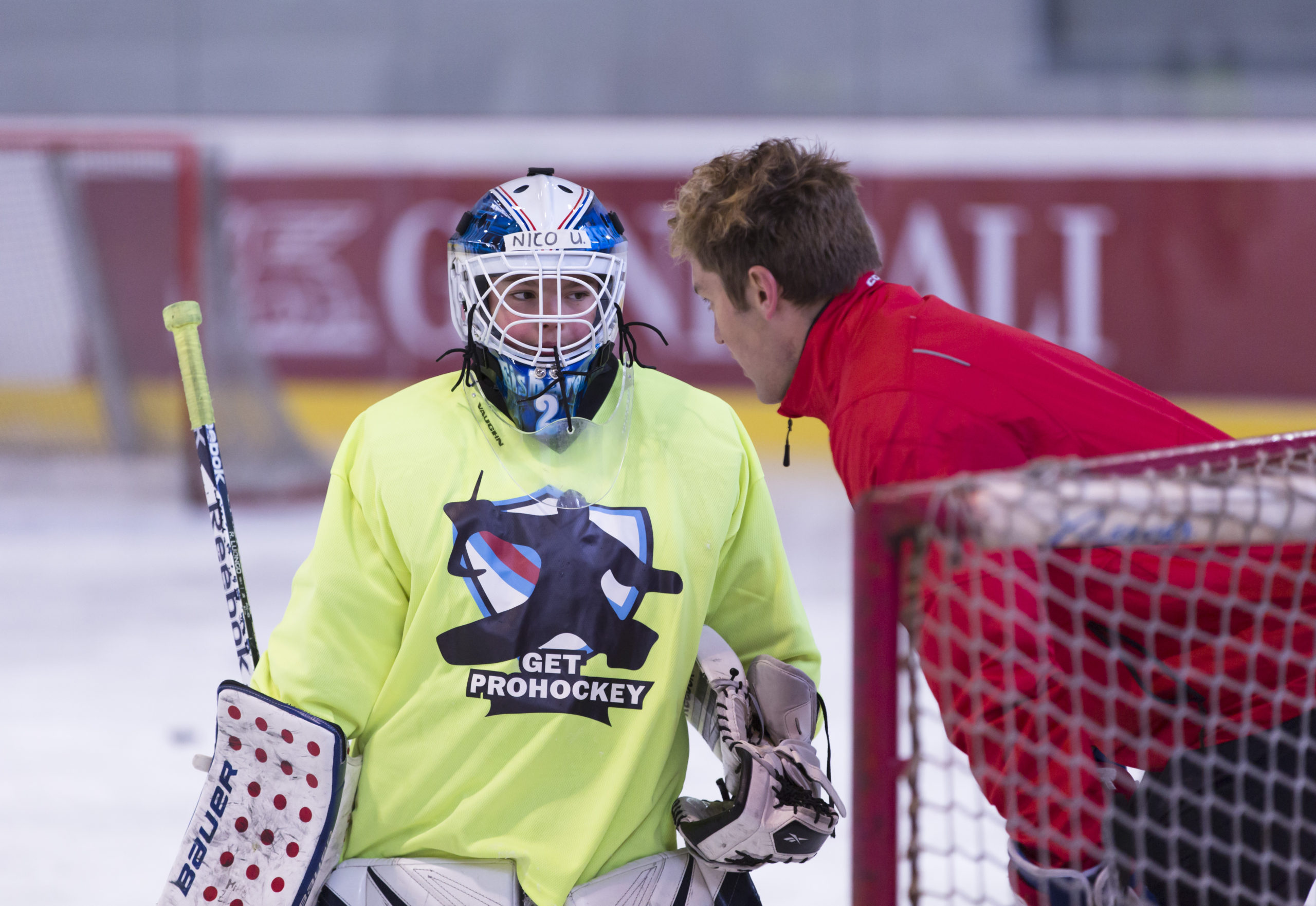 Get Prohockey goalie training