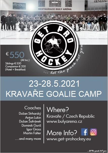 Goalie camp Kravare MAY 2021